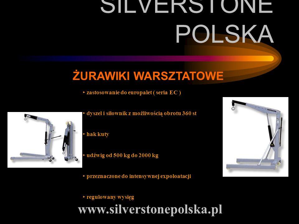 SILVERSTONE POLSKA www.silverstonepolska.pl ŻURAWIKI WARSZTATOWE