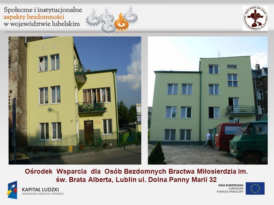 Ośrodek Wsparcia dla Osób Bezdomnych Bractwa Miłosierdzia im. św