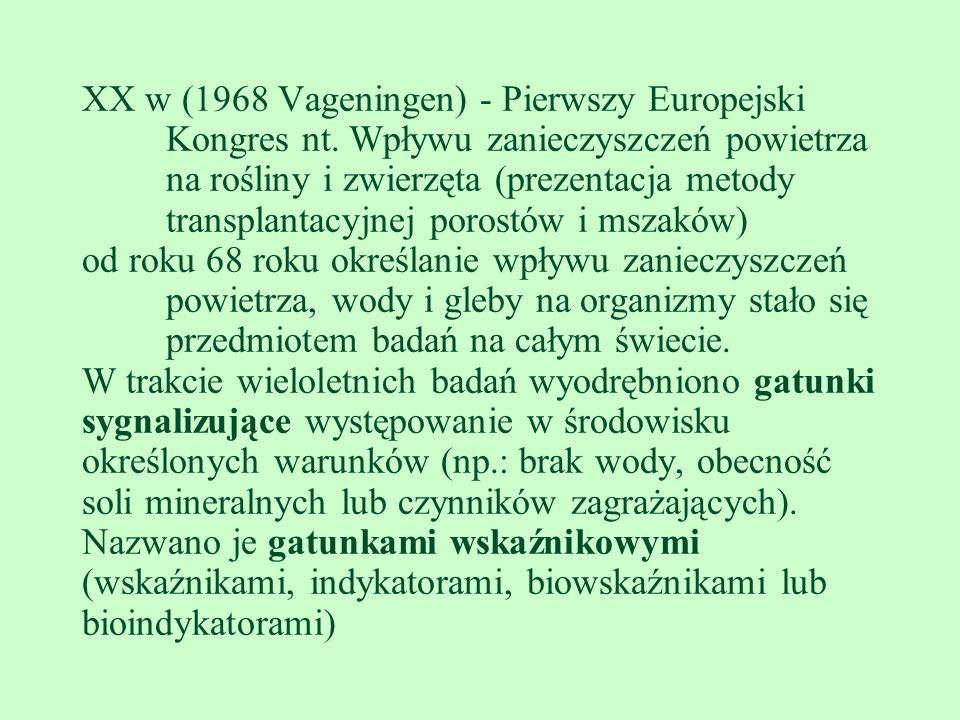 XX w (1968 Vageningen) - Pierwszy Europejski Kongres nt
