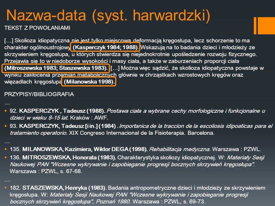 Nazwa-data (syst. harwardzki)