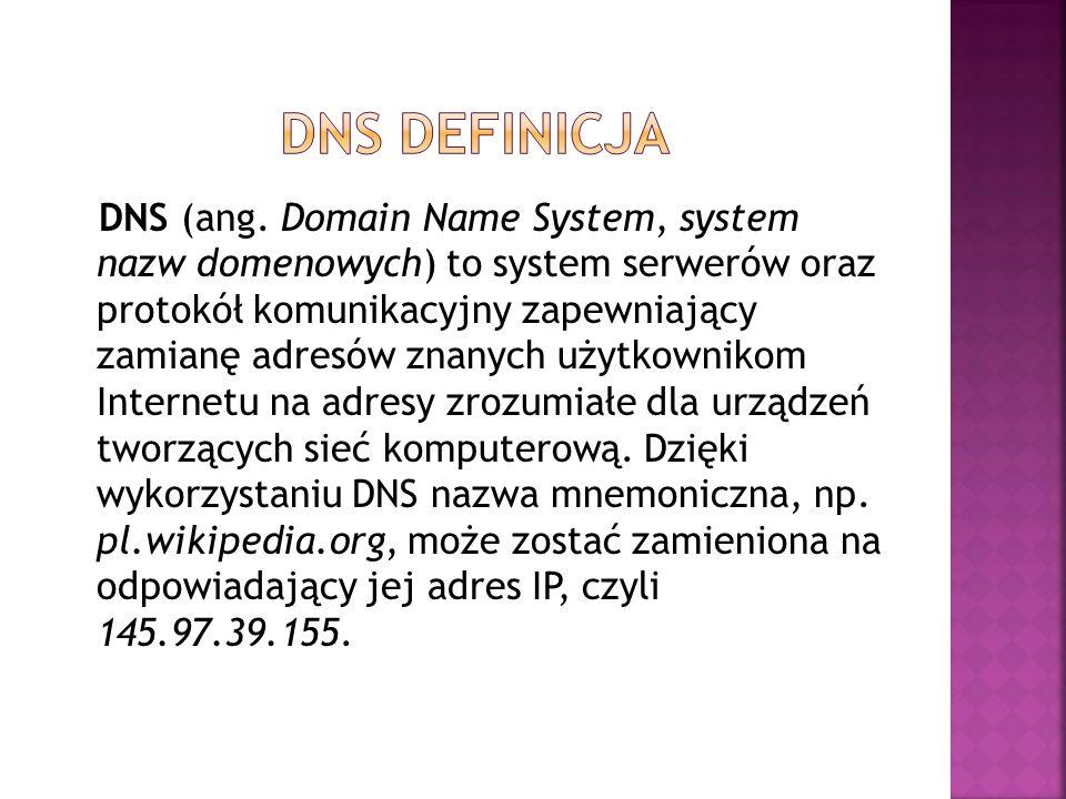 Dns definicja