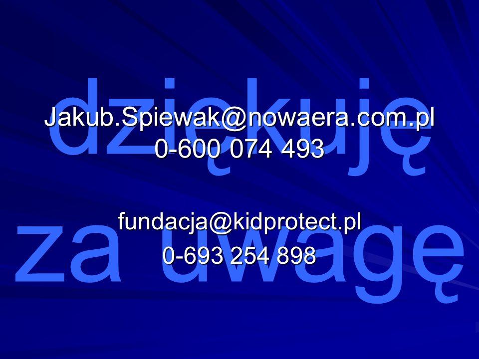 Jakub.Spiewak@nowaera.com.pl 0-600 074 493