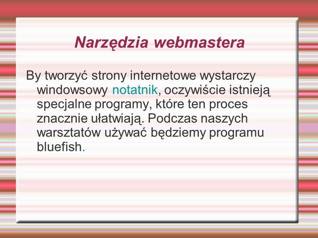 Narzędzia webmastera