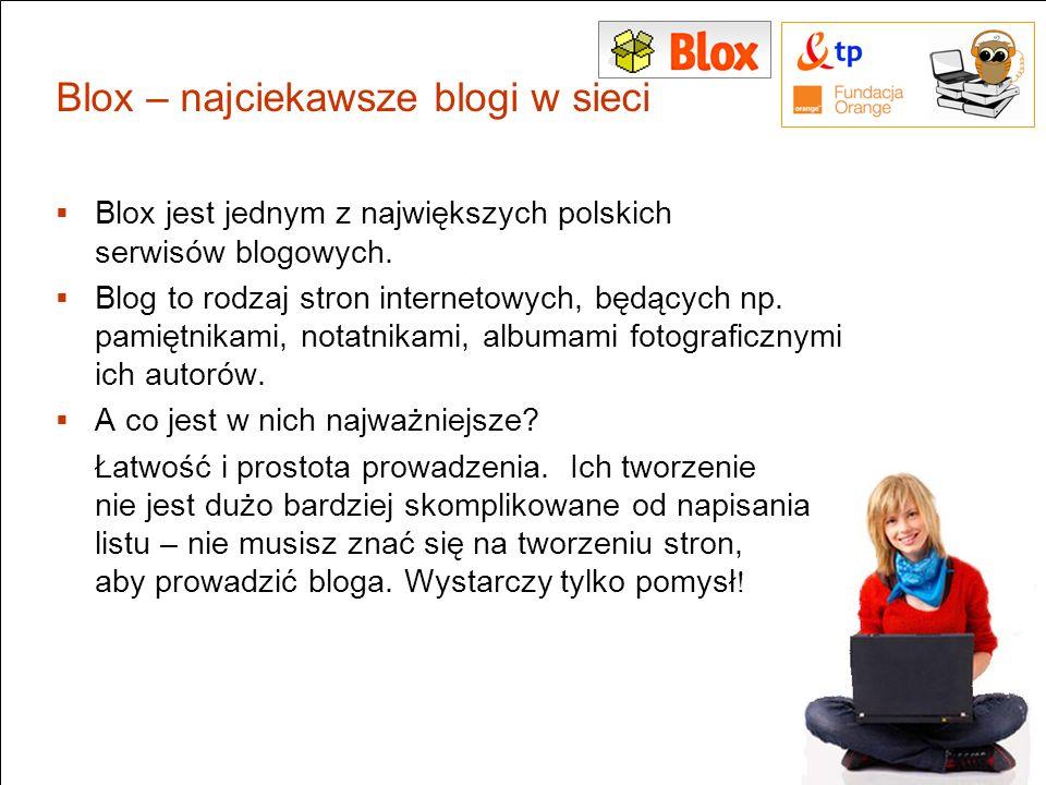 Blox – najciekawsze blogi w sieci
