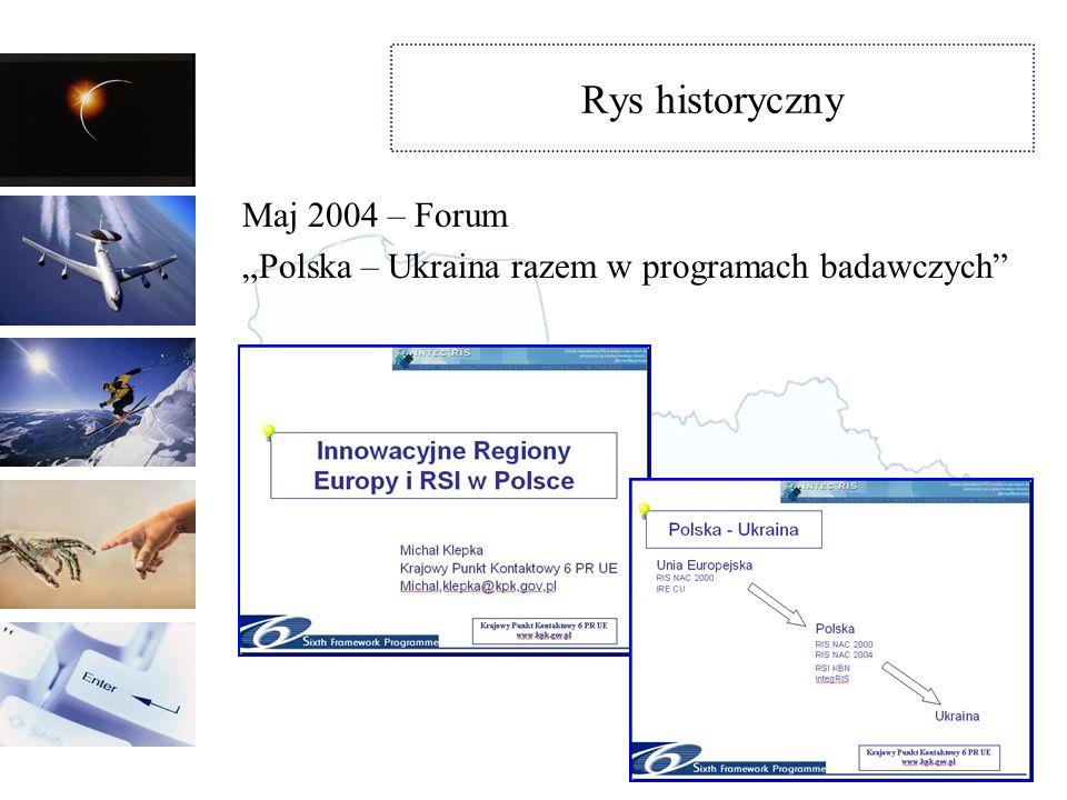 Rys historyczny Maj 2004 – Forum