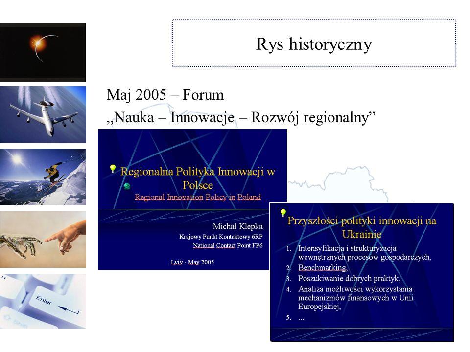 Rys historyczny Maj 2005 – Forum
