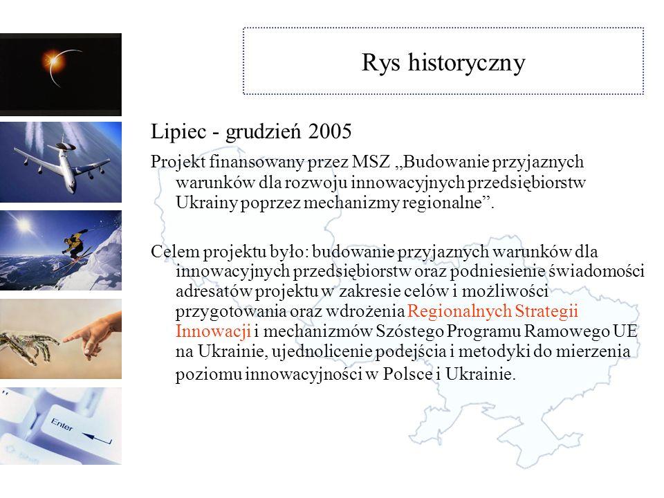 Rys historyczny Lipiec - grudzień 2005