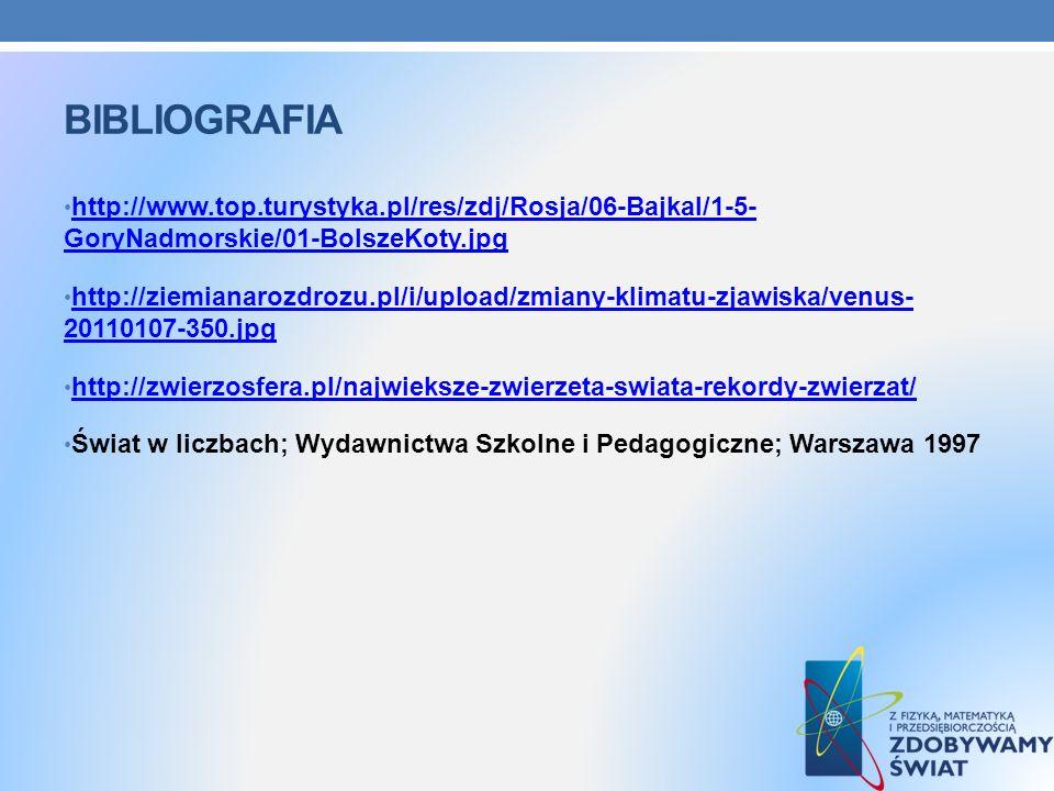bibliografia http://www.top.turystyka.pl/res/zdj/Rosja/06-Bajkal/1-5- GoryNadmorskie/01-BolszeKoty.jpg.