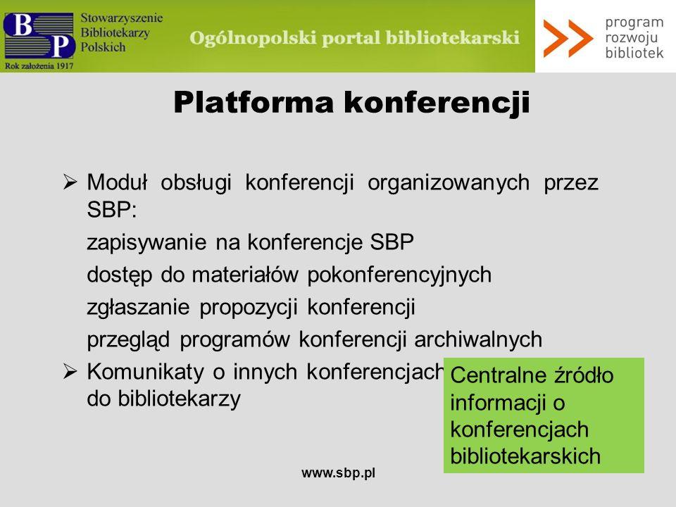 Platforma konferencji