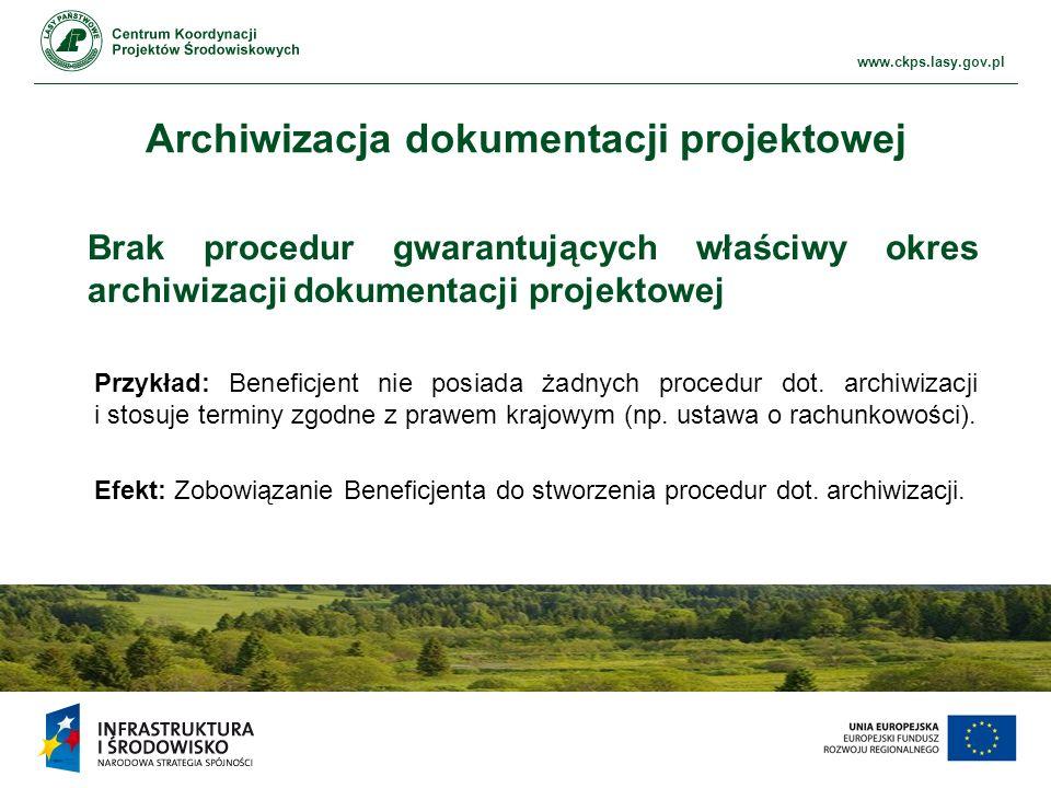 Archiwizacja dokumentacji projektowej