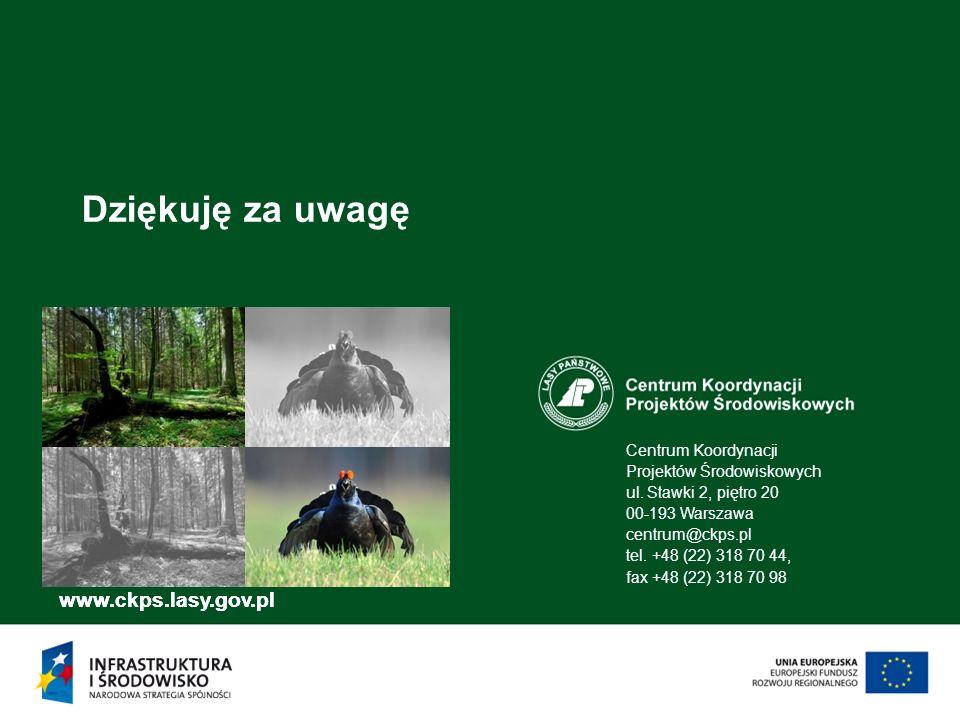 Dziękuję za uwagę www.ckps.lasy.gov.pl