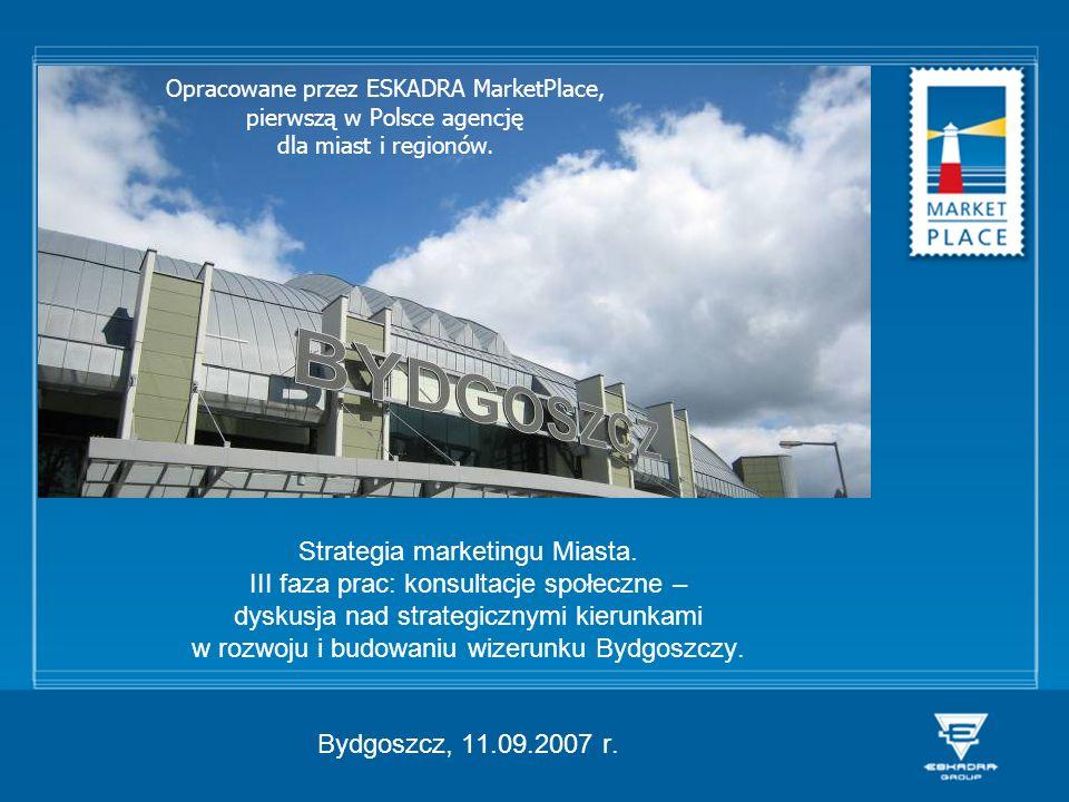 Opracowane przez ESKADRA MarketPlace, pierwszą w Polsce agencję dla miast i regionów.