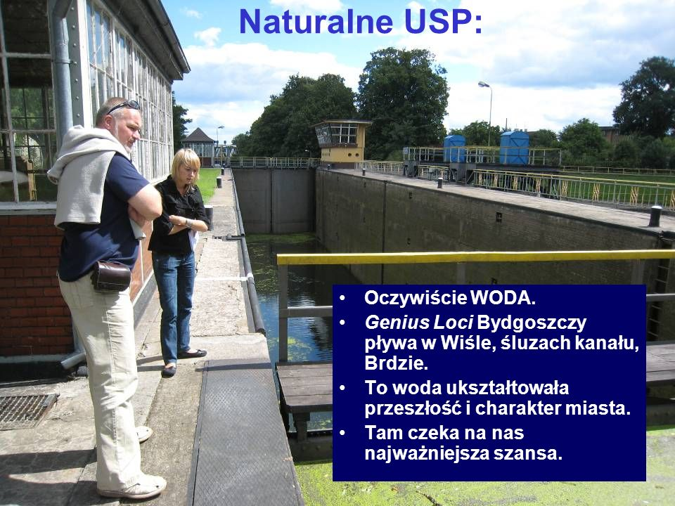 Naturalne USP: Oczywiście WODA.