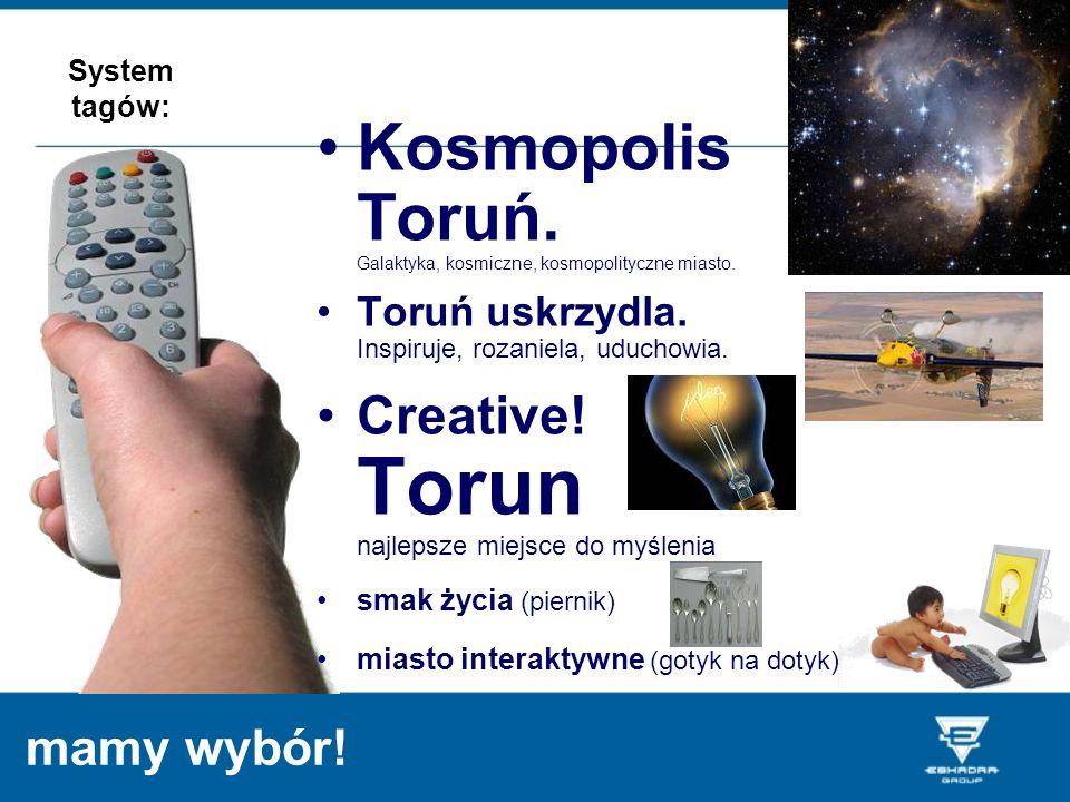 Kosmopolis Toruń. Galaktyka, kosmiczne, kosmopolityczne miasto.