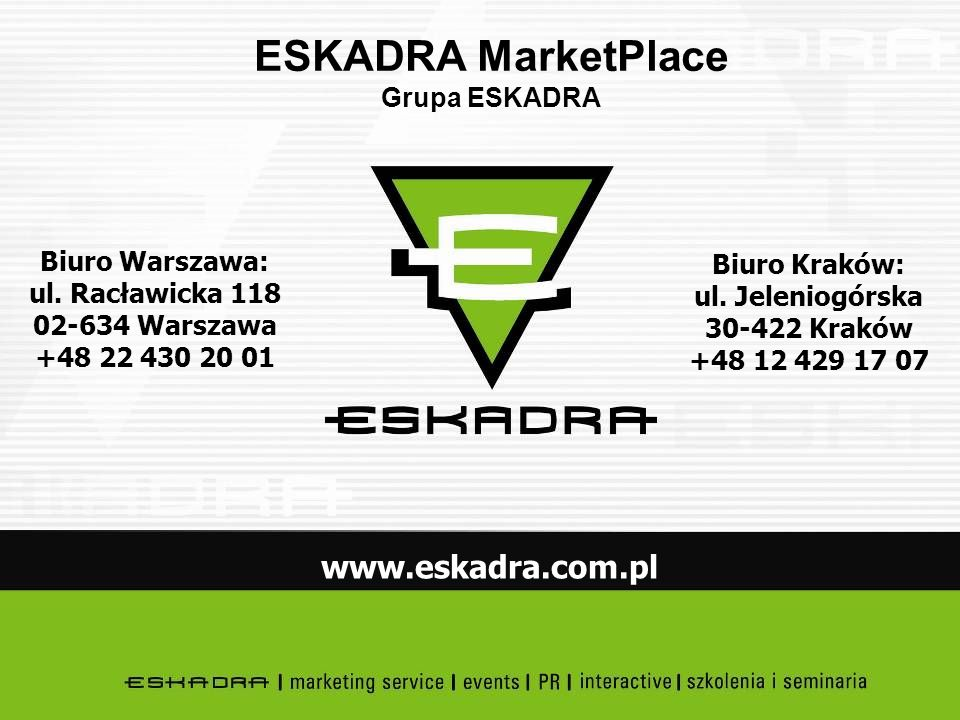 ESKADRA MarketPlace Grupa ESKADRA