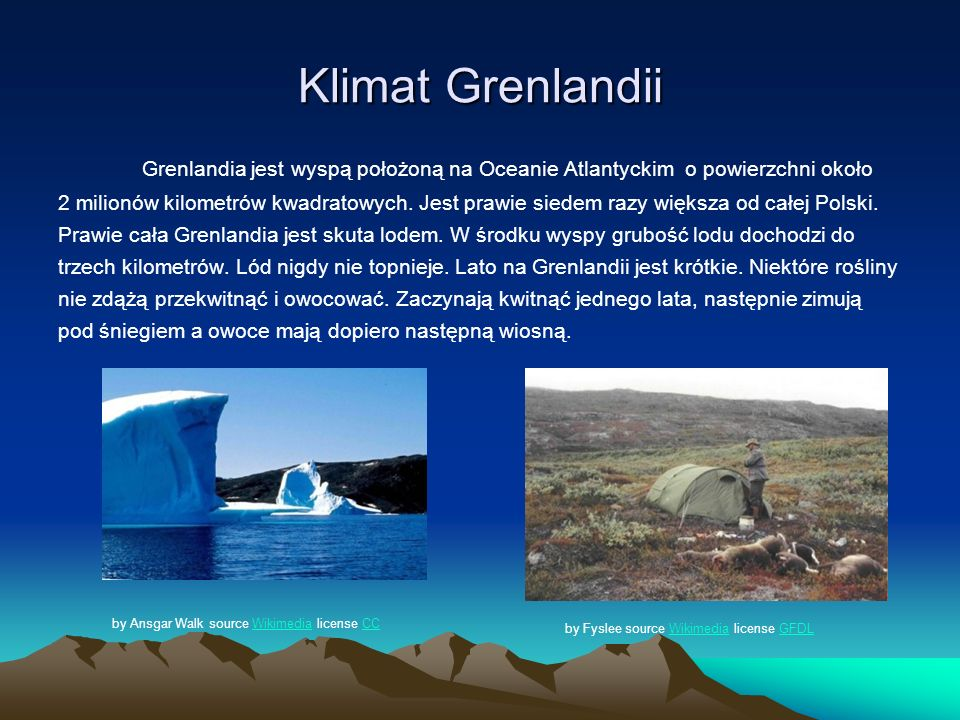 Klimat Grenlandii