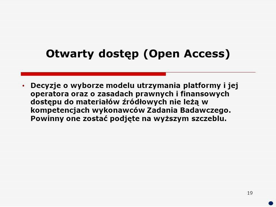 Otwarty dostęp (Open Access)