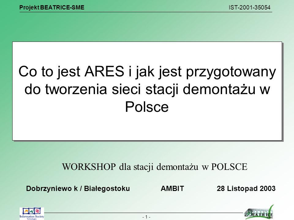 Dobrzyniewo k / Białegostoku AMBIT 28 Listopad 2003