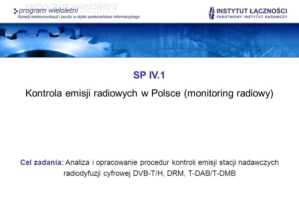 Kontrola emisji radiowych w Polsce (monitoring radiowy)
