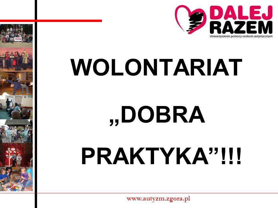 """WOLONTARIAT """"DOBRA PRAKTYKA !!!"""