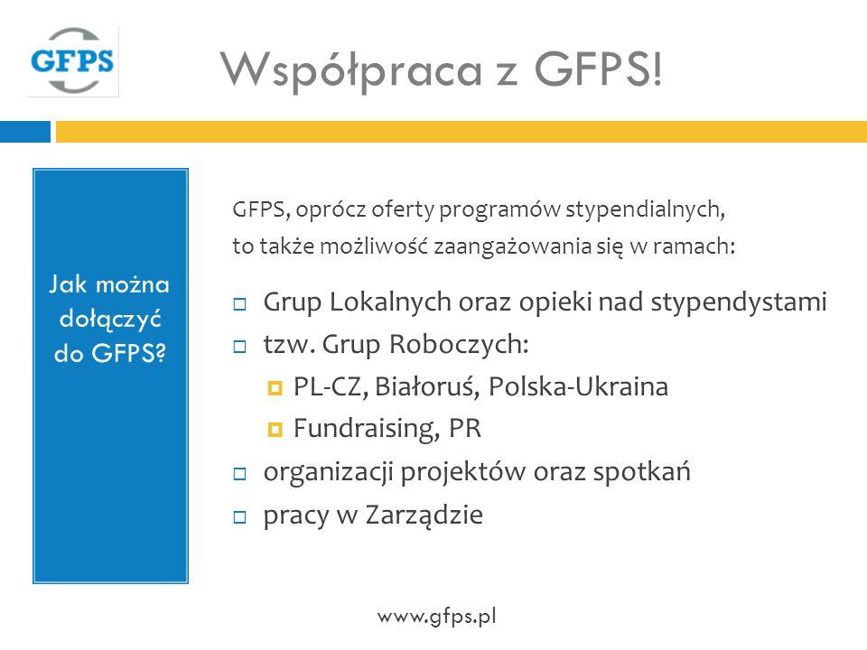 Jak można dołączyć do GFPS