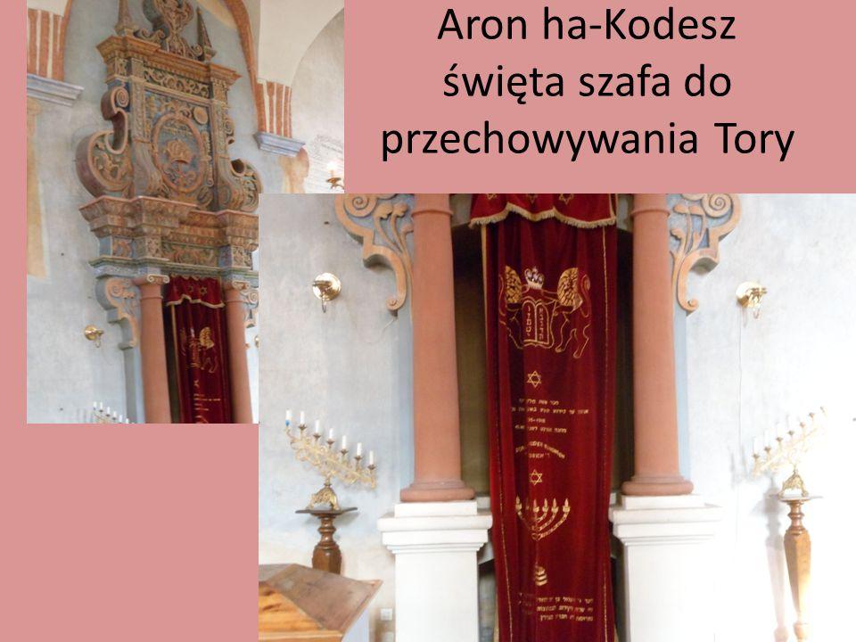 Aron ha-Kodesz święta szafa do przechowywania Tory
