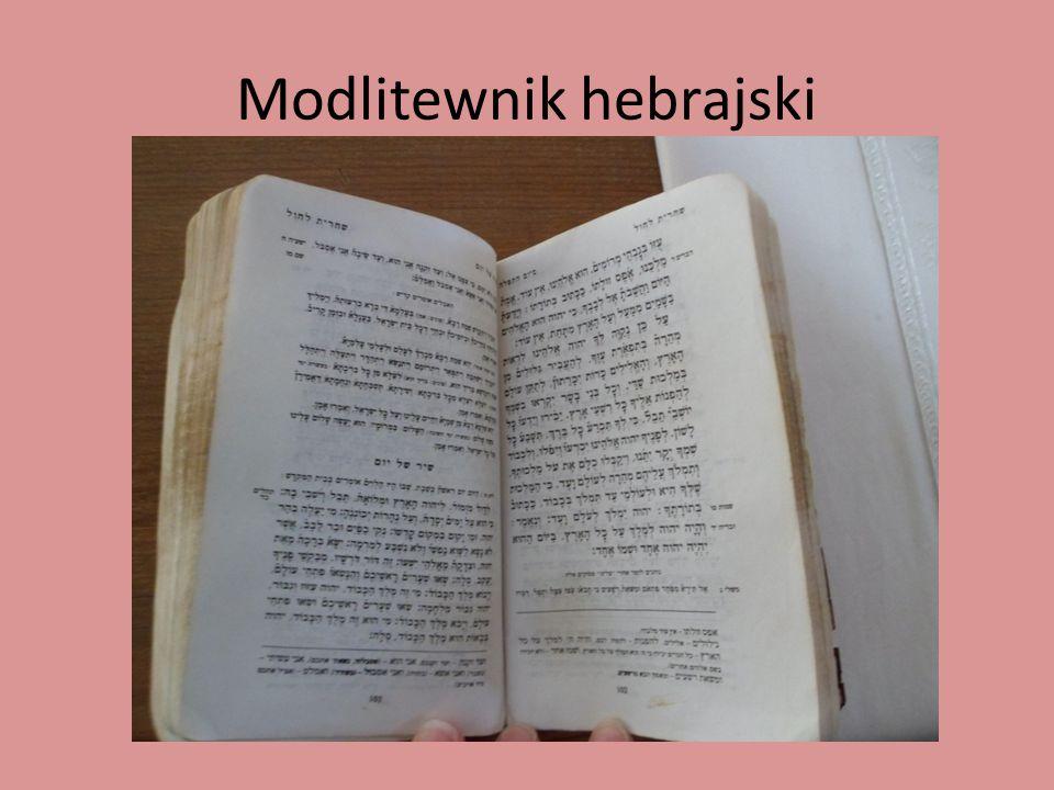 Modlitewnik hebrajski