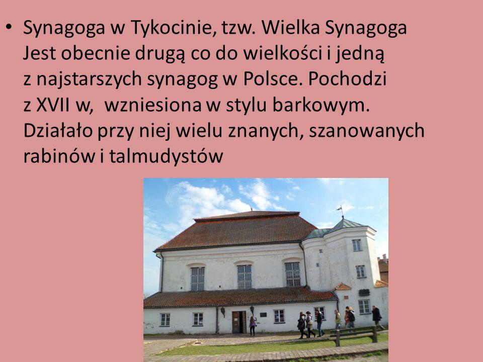 Synagoga w Tykocinie, tzw