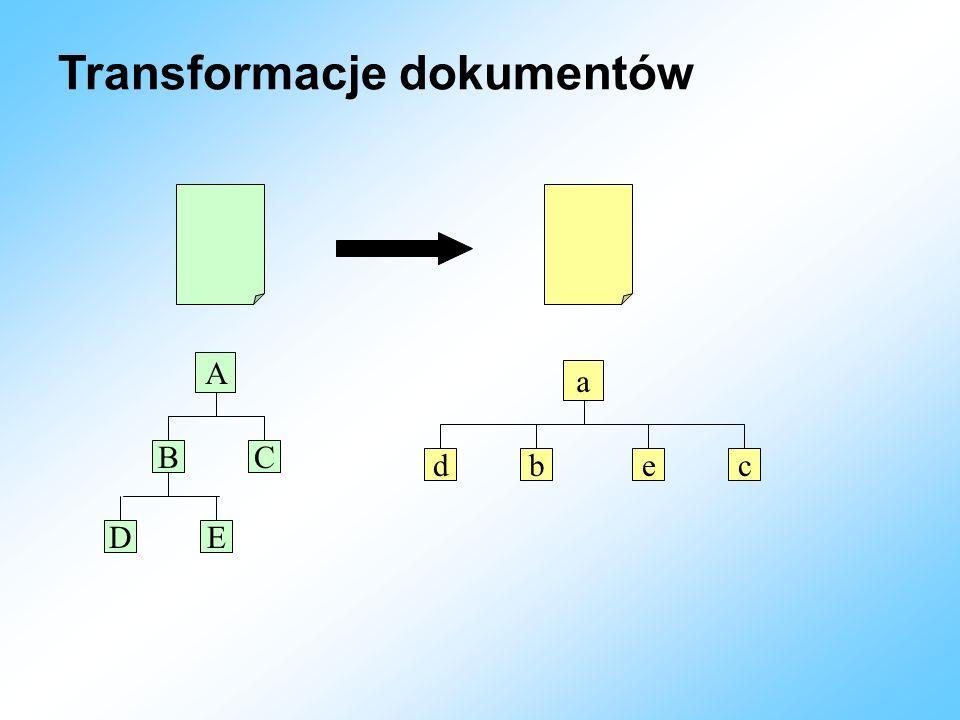 Transformacje dokumentów