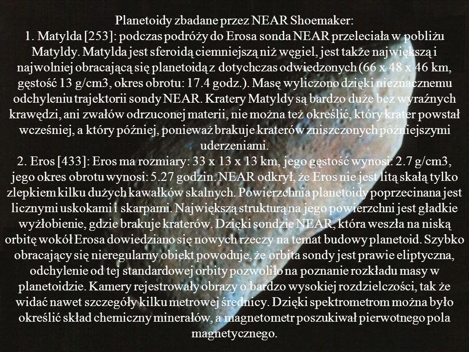 Planetoidy zbadane przez NEAR Shoemaker: 1