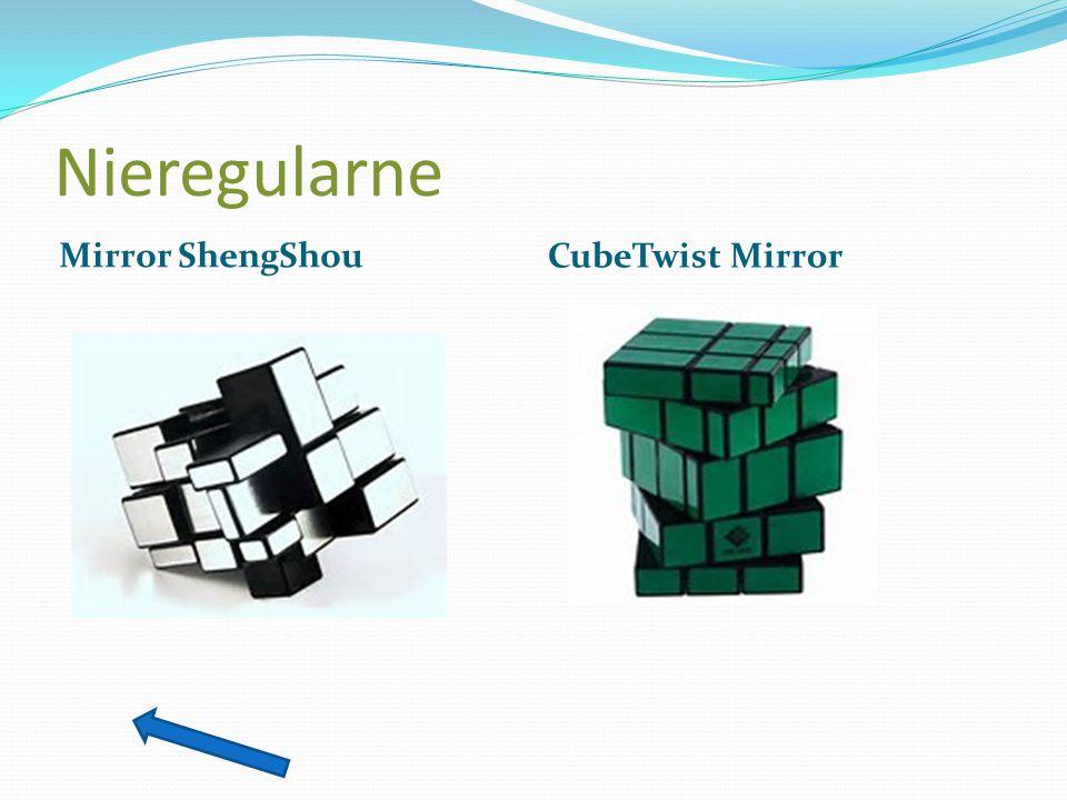 Nieregularne Mirror ShengShou CubeTwist Mirror