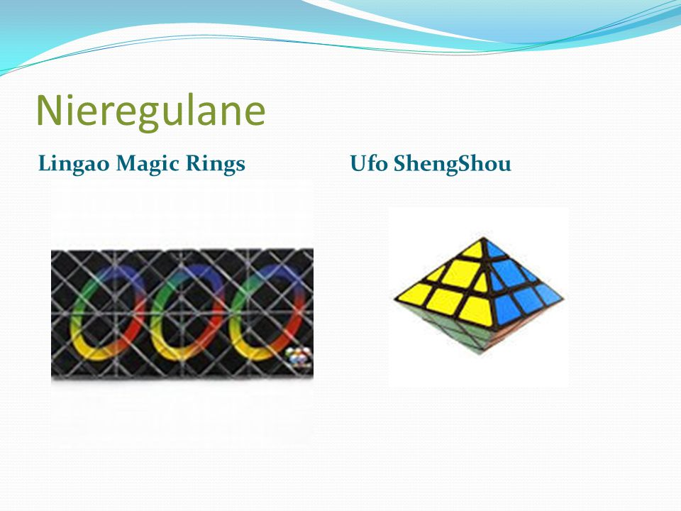 Nieregulane Lingao Magic Rings Ufo ShengShou