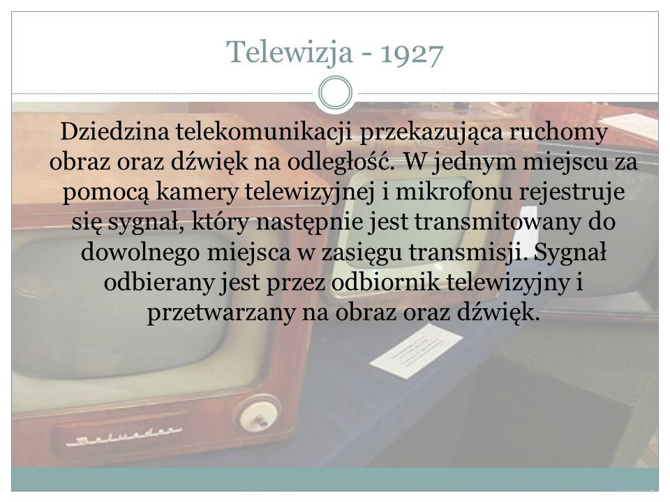 Telewizja - 1927