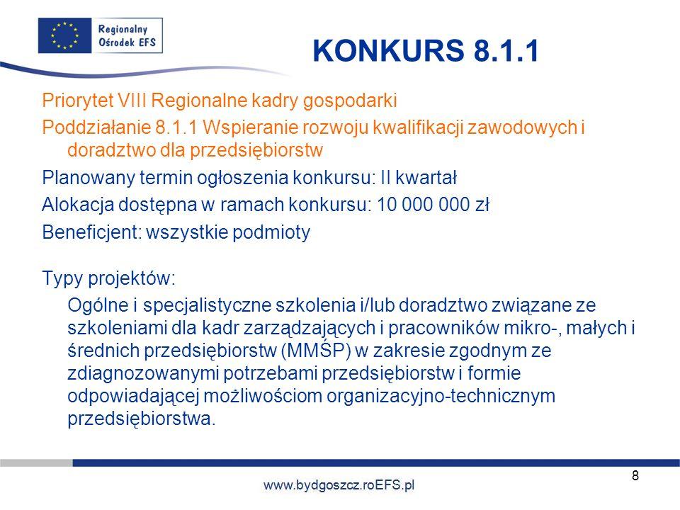 KONKURS 8.1.1