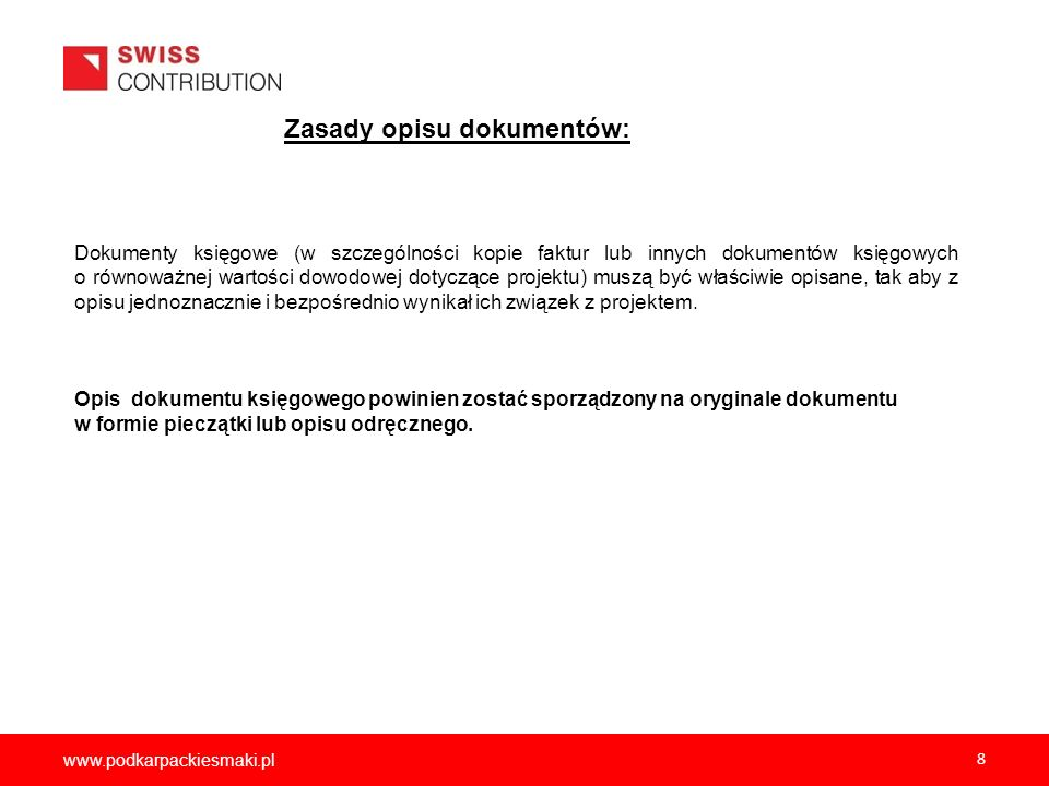 2012-12-05 Zasady opisu dokumentów: