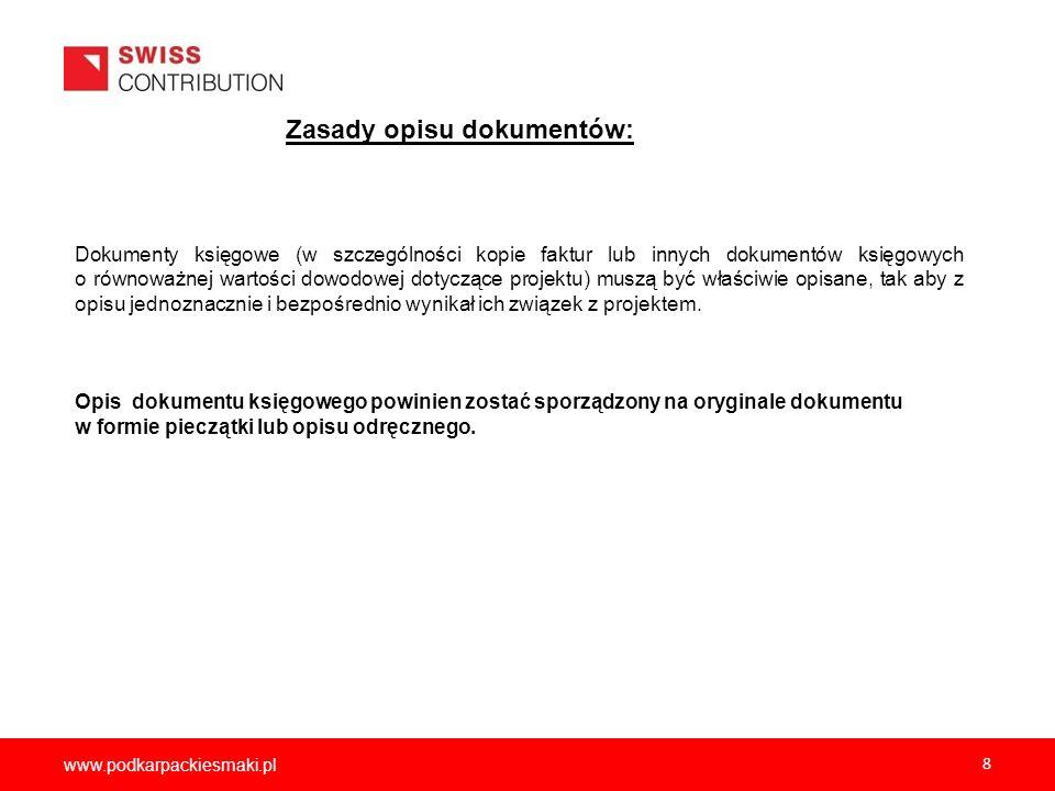 2012-12-05Zasady opisu dokumentów: