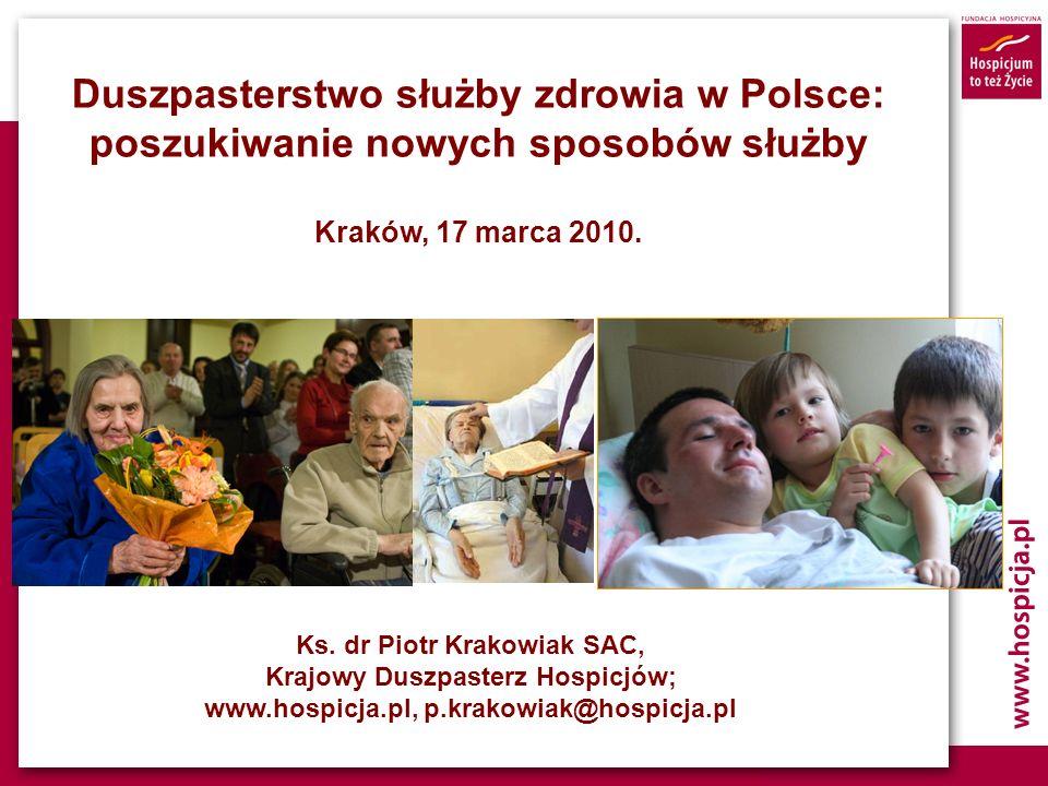 Duszpasterstwo służby zdrowia w Polsce: