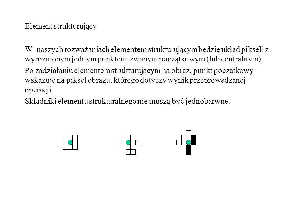 Element strukturujący.