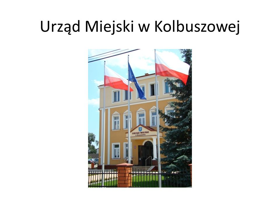 Urząd Miejski w Kolbuszowej