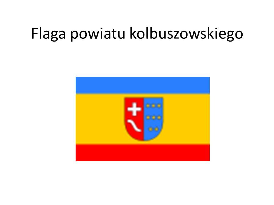Flaga powiatu kolbuszowskiego