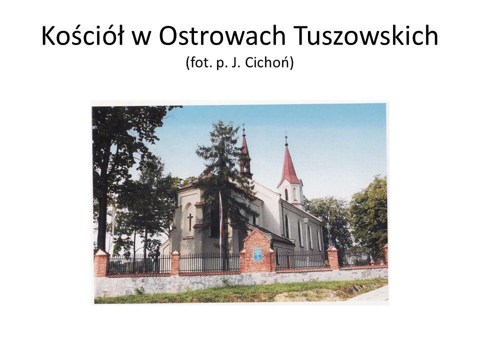 Kościół w Ostrowach Tuszowskich (fot. p. J. Cichoń)