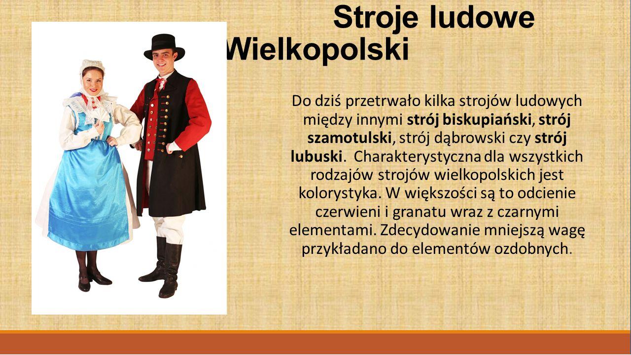 Stroje ludowe Wielkopolski