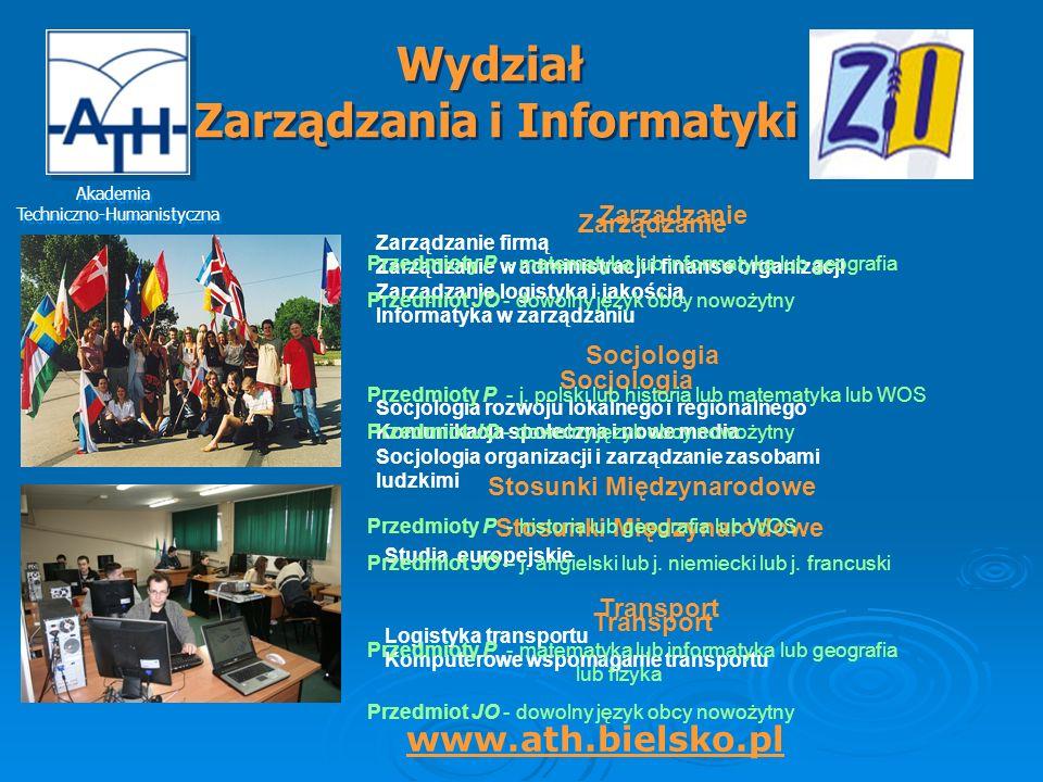 Wydział Zarządzania i Informatyki