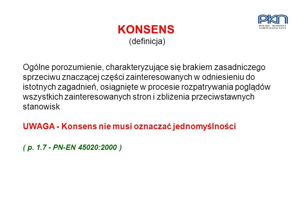 KONSENS (definicja)