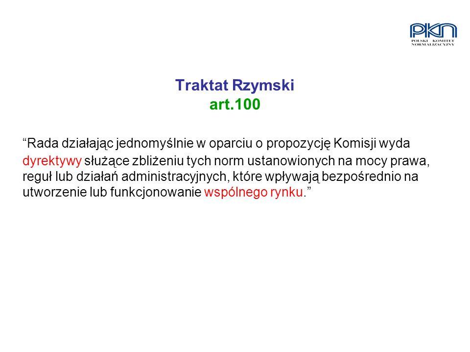 Traktat Rzymski art.100