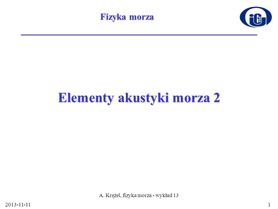 Elementy akustyki morza 2