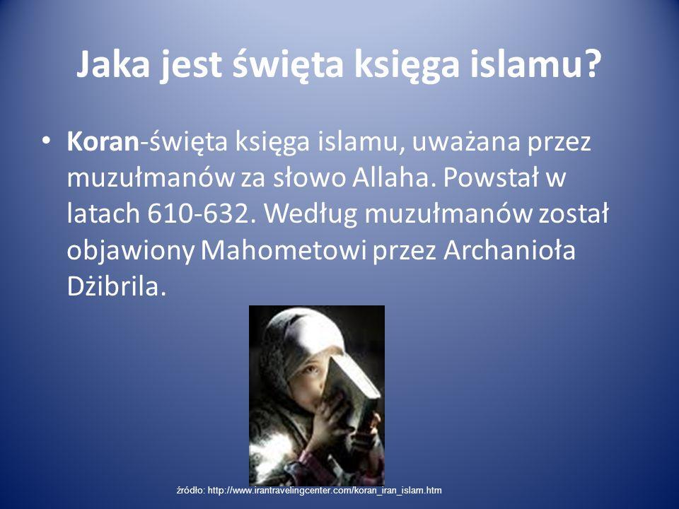 Jaka jest święta księga islamu