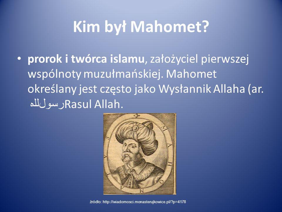 Kim był Mahomet