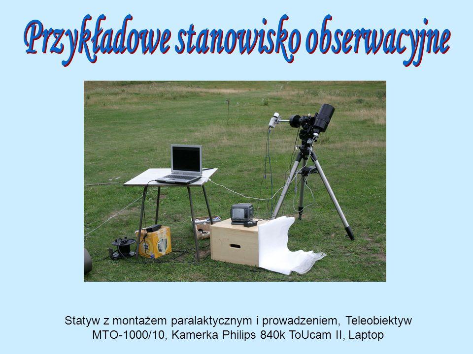Przykładowe stanowisko obserwacyjne