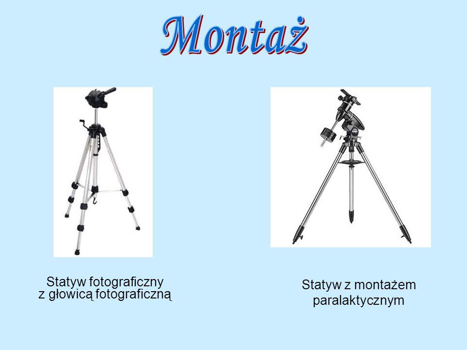 Montaż Statyw fotograficzny z głowicą fotograficzną